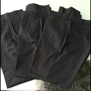 3 Pairs Men's MK Michael Kors Dress Pants 36